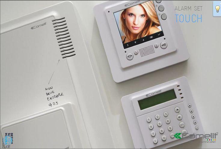 Touch - Alarm set  Comelit