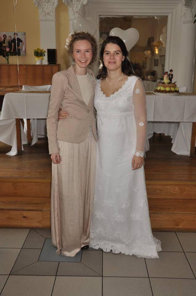 Lusinda svatební šaty  custom made wedding dress, long sleve