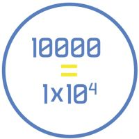 Convertir un número a notación científica