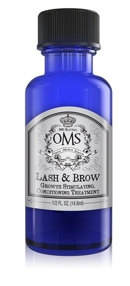 OMS Lash & Brow Growth Stimulating/Conditioning treatment is packed with 100% natural nourishing herbs and botanicals that dramatically benefit hair growth and condition including the exclusive Tribramla complex.  These ingredients are slowly infused into our anti oxidant rich, growth promoting, deep conditioning oils. Use in the evenings after washing your face. After applying to your lashes, gently pat OMS around your eyes for added hydration and nourishment for your skin.&n...