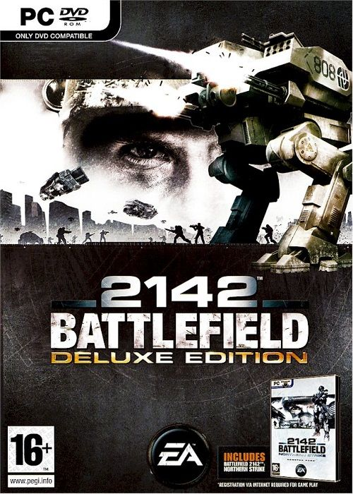 This item includes:  Battlefield 2142 and  Battlefield 2142 Expansion - Northern Strike.