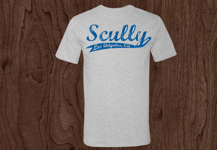 Los Angeles Dodgers - Vin Scully Shirt - Dodgers #Unbranded #GraphicTee #dodgers #losangeles #vinscully #mlb #baseball #scully #california