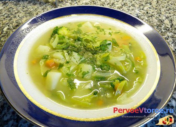 Вегетарианский суп рецепт с макаронами