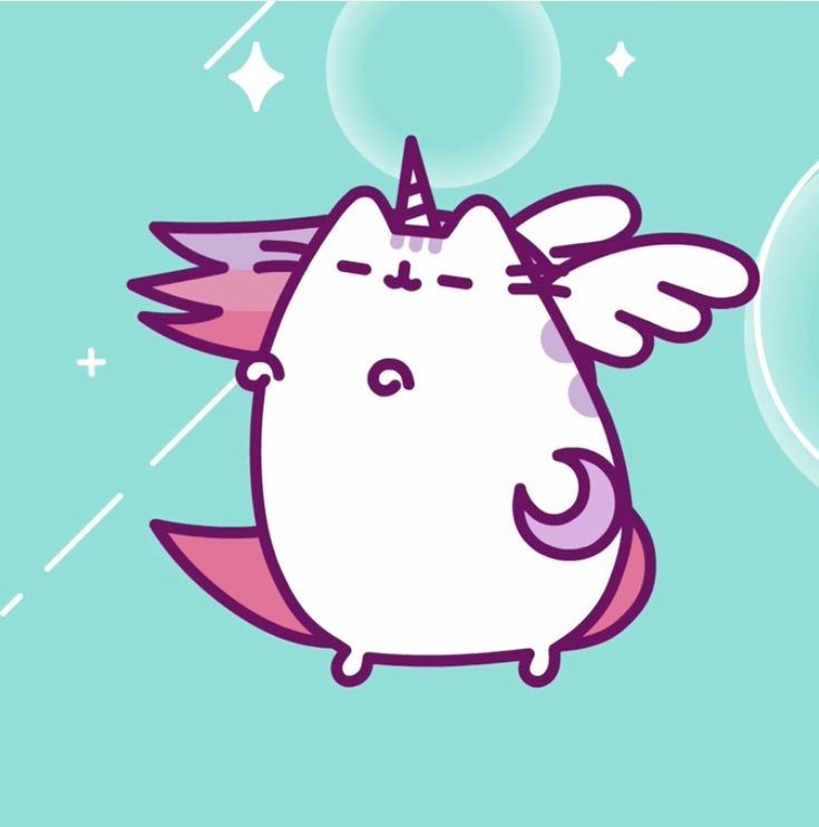 Unicorn + Pusheen + Pegasus = ?