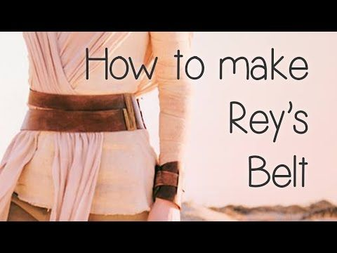 How to Make Rey's Leather Belt (Star Wars) - Atelier Heidi - YouTube
