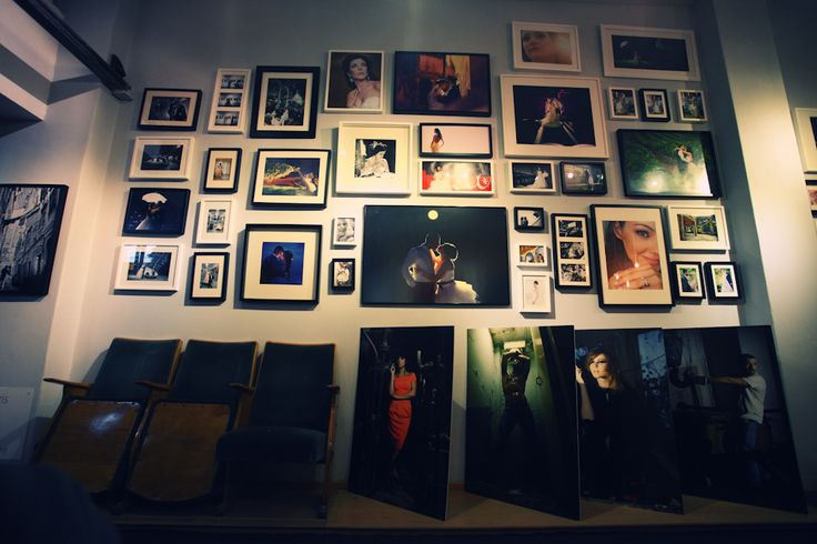 This is how my gallery wall used to look
