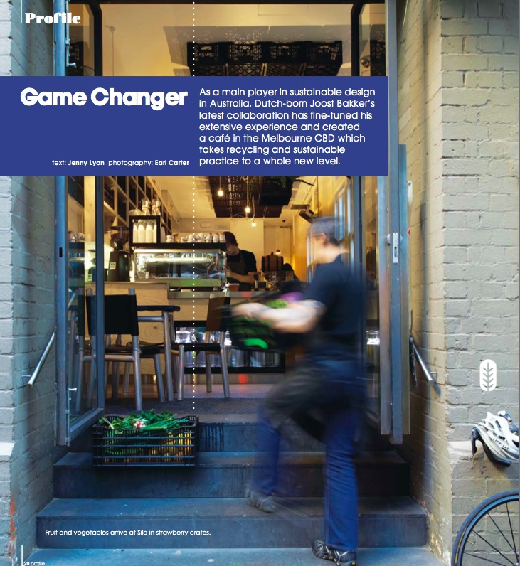 game changer - photography: Earl Carter