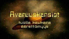 Jakso 23: Universumin mittasuhteita   Avaruuskansiot   TV   Areena   yle.fi