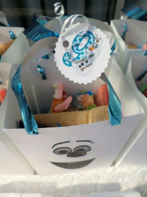 Frozen party Olaf party bag
