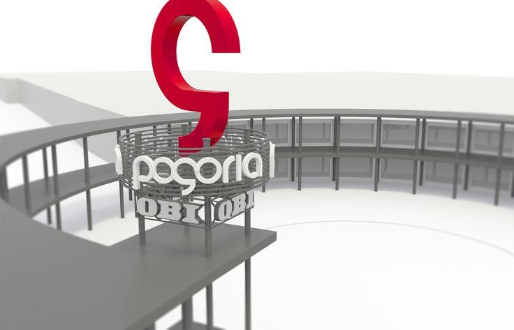 Pogoria totem - 3D model