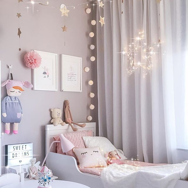 sweet pastel kid room
