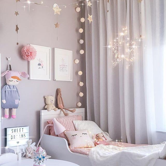 Inspiración Instagram: cuarto infantil escandinavo para niñas | DecoPeques