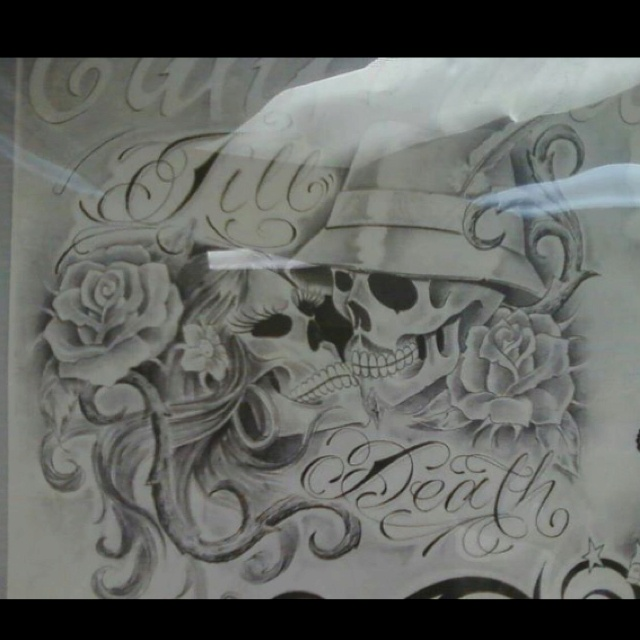 This one is a must till death tattoo tattoos i for Until death do us part tattoo