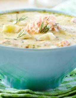 RECIPE: To-Die-For Fish Chowder | Not 1, not 2 but 4 different varieties of fish make this chowder a must-try on anyone's culinary bucket list. | Recipes from New Brunswick, Canada
