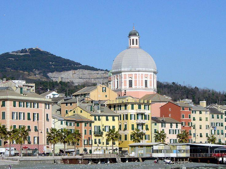 Pegli is a neighbourhood in the west of Genoa