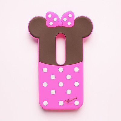 3D Cartoon Batman Minnie Smartphones Case cover For Motorola MOTO G3 G 3 3rd Gen