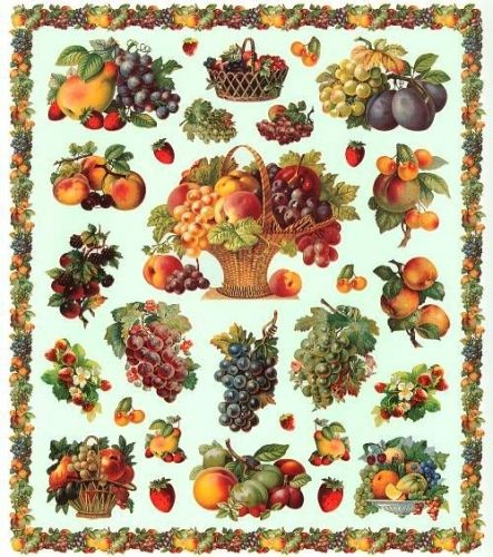 Lamina para decoupage frutas mis im genes para decoupage pinterest printables teas and - Laminas decorativas para pared ...