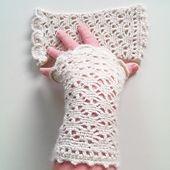 crocheted mittens | fingerless mittens | fingerless mitts | wrist warmers | heklede pulsvanter | heklede pulsvarmere | crochet pattern