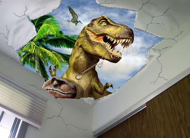 488 best Kidsu0027 Themed Room Ideas images on Pinterest Batman - dinosaur bedroom ideas