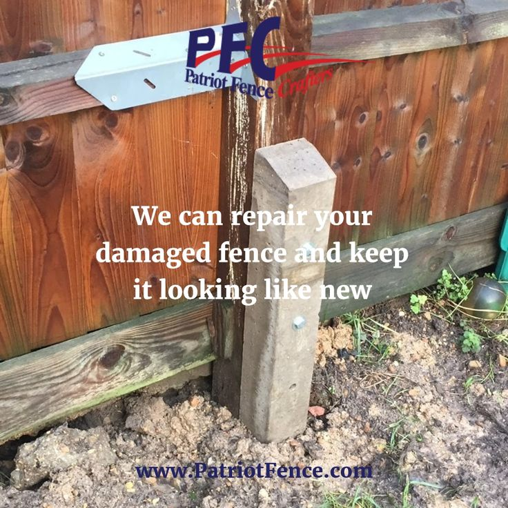 We can repair your damaged fence and keep it looking like new Get Your Fence Free Quote Today @ www.patriotfence.com  #fence #fences #repair #privacyfence #securityfence #fencing #fencecompany #residential #commercial #vinyl #wood #metal #chainlink #picket #boston #northshore #andover #beverly #danvers #gloucester