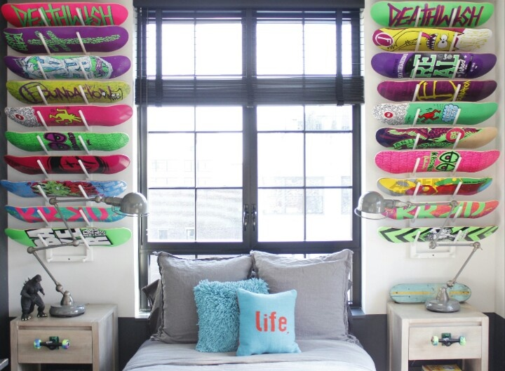 skater dream room - Skater Bedroom Ideas