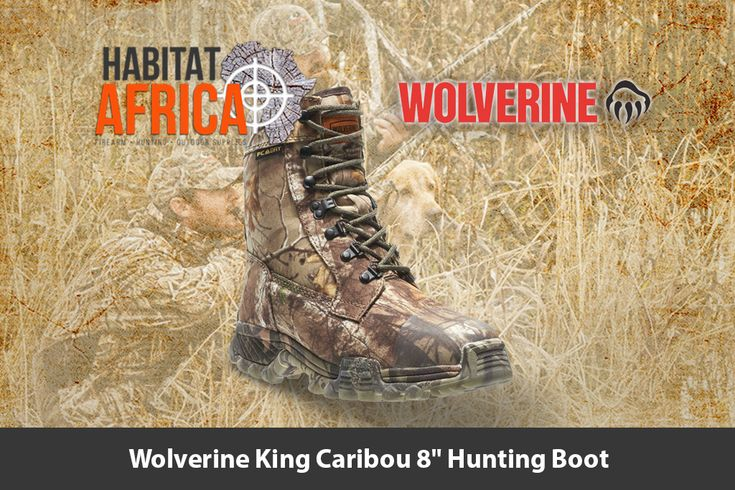 The rugged Wolverine King Caribou 8″ Mens Hunting Boots help you getting to big game, which can demand sacrifice. These waterproof hunting boots equip you with ultra rugged, dry warmth and hiking comfort to keep your focus on the task at hand, the hunt. Abrasion-resistant and waterproof, they surround your [...]
