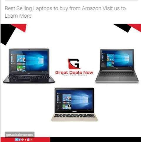 https://www.greatdealsnow.net/best-selling-laptops/ | Best Selling Laptops to buy from Amazon - If you're looking for a new laptop, buying from Amazon gives you complete piece of mind and you know you're getting a quality product. This article will tell you the three bestselling laptops to buy from Amazon so you can be sure you're getting a great new laptop that will be with you for years to come!