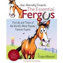 Hilarious cartoons on Fergus – the charmingly imperfect 'everyman's horse' created by artist Jean Abernethy