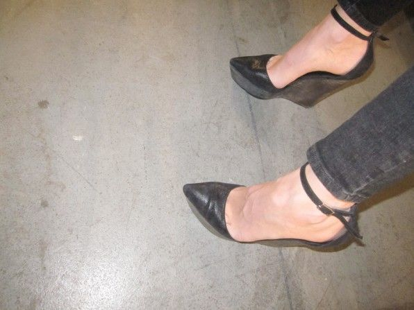 Theyskens Theory heels.