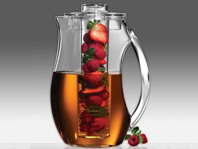 Infusion Pitcher.  This is pretty cool if you hate bits of fruit in your drink, but like the taste...