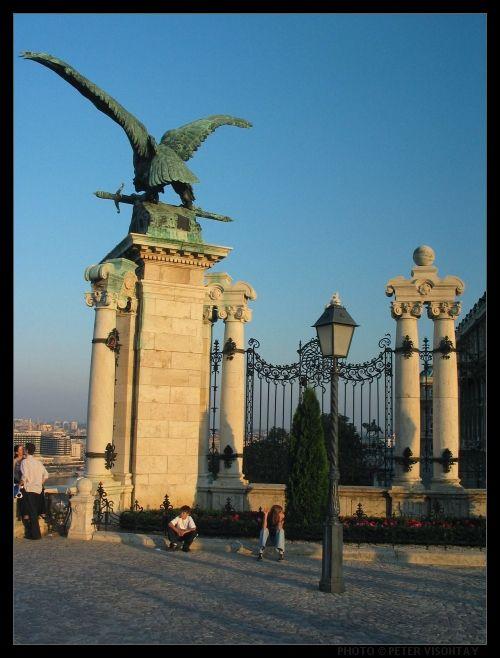 Budapest fotó: Vasárnap délután a Várban