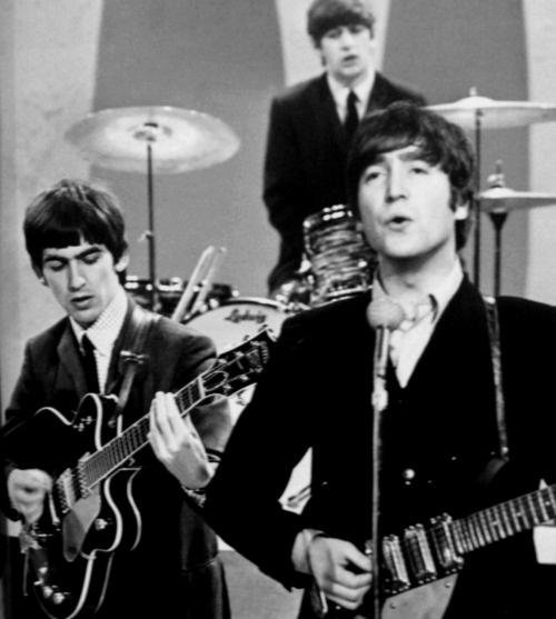 John Lennon, George Harrison & Ringo Starr