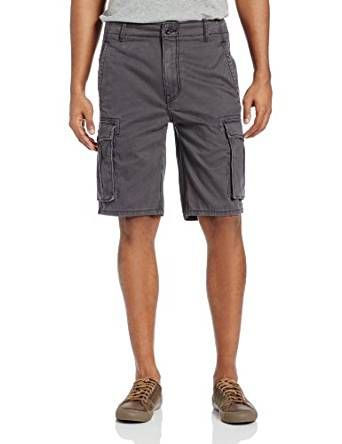 Levi's Men's Ace Cargo Twill Short Graphite http://amzn.to/2qGUe9m