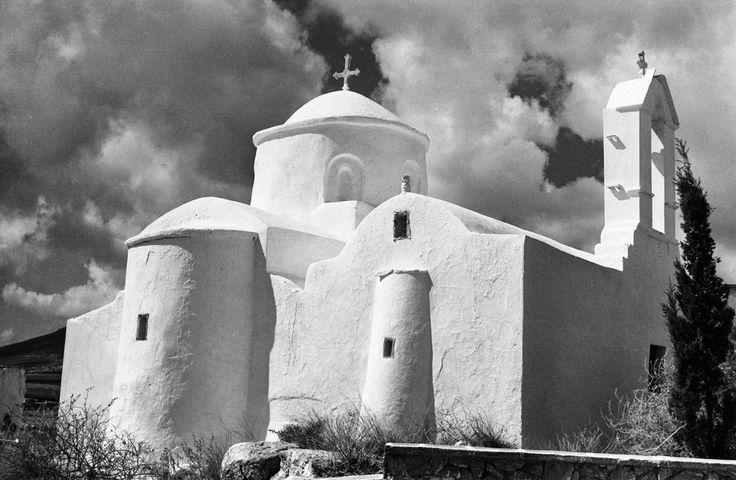 As. Avaovios Monastery near Marpissa, Paros (1968