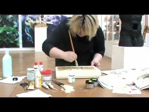 Мастер-класс Пуконцева Наталья Декупаж 4.mp4 - YouTube