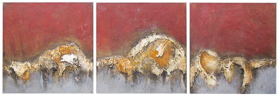 15. Obsolete (triptych) - Symon Sayce