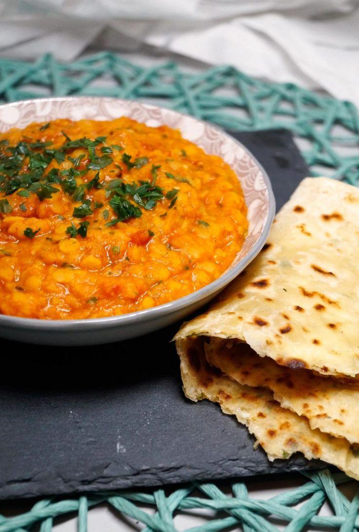Indisches Dal mit gelben Linsen - Rezept auf carointhekitchen.com