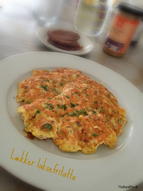 Salmon fritatta - LCHF