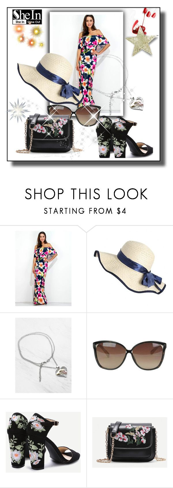"""""""Sheinside I"""" by azrahadzic ❤ liked on Polyvore featuring Linda Farrow"""