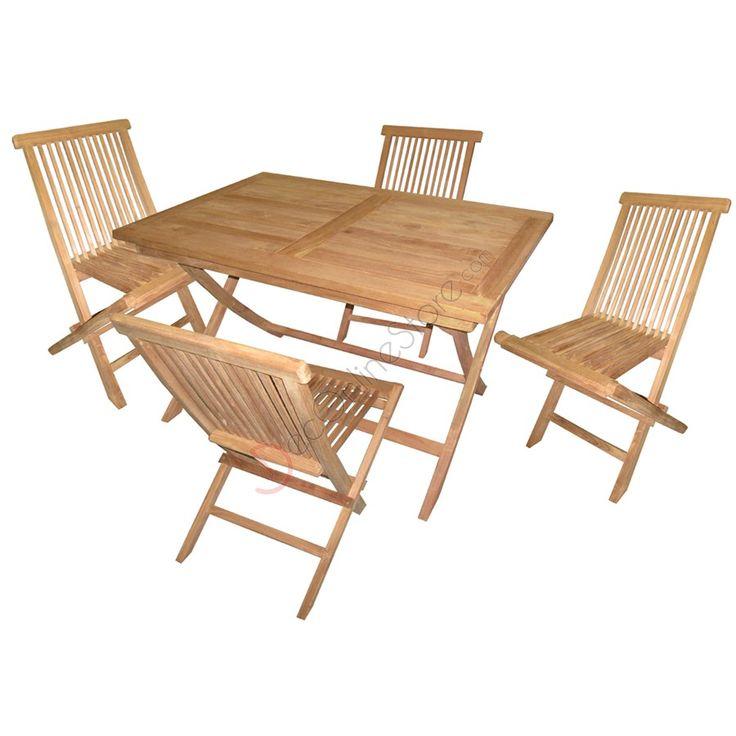 807301 tavolo 4 sedie esterni pinterest for Kare design tisch bijou steel