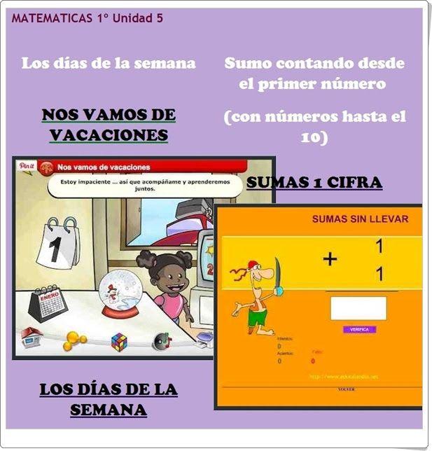 """Unidad 5 de Matemáticas de 1º de Primaria: """"Medida del tiempo"""""""