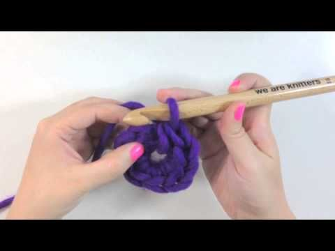 Tutoriales para aprender a hacer ganchillo WE ARE KNITTERS - Cadeneta Circular Crochet
