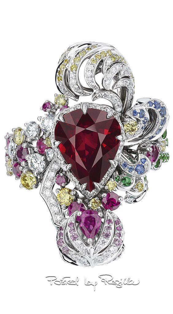 8ccc632d871 Regilla ⚜ 2017 collection of jewelry Dior  FineJewelryEarringsIdeas ...