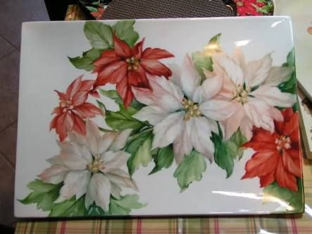 Resultado de imagem para watercolor poinsettia