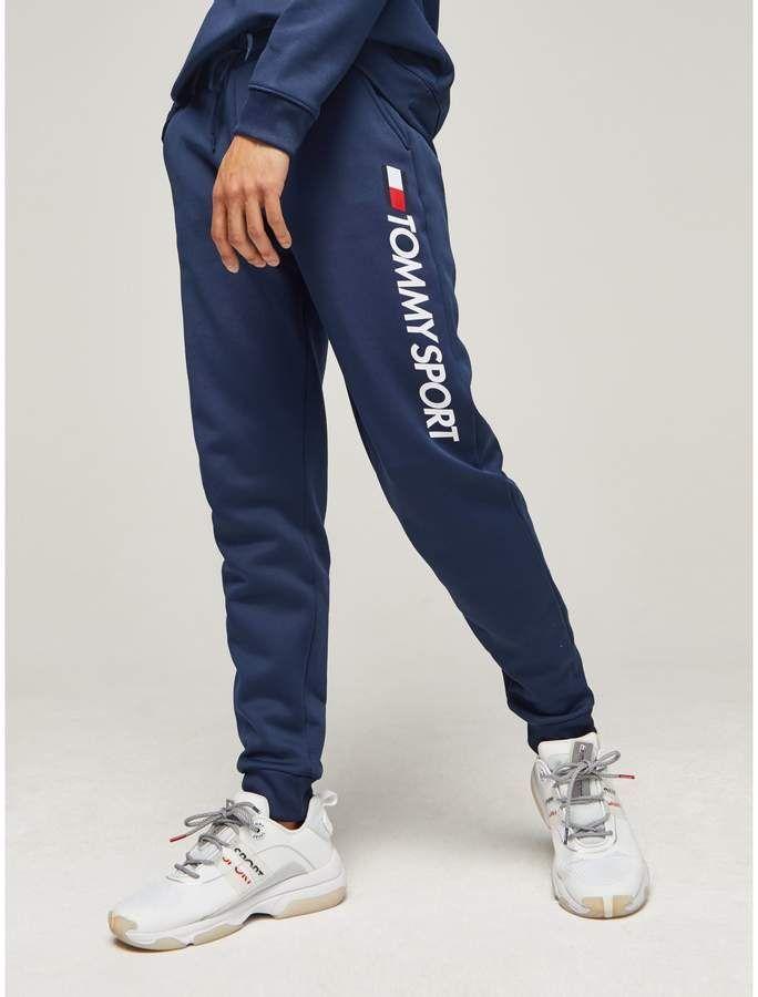 Wicking Fleece Logo Jogger Tommy Hilfiger Badeanzug Blaues Hemd Jogginghose