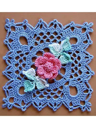 ♡ ♡ Flor em Crochê -  /   ♡ ♡ Flower Crochet  -