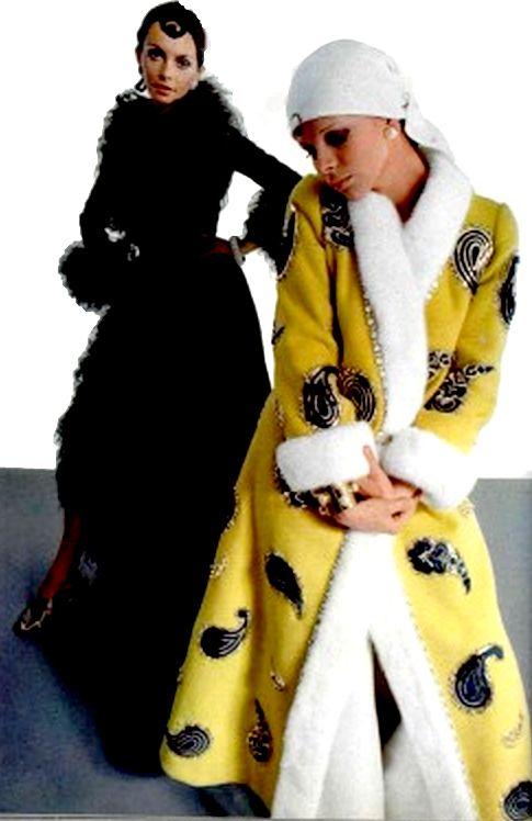 1969 Nina Ricci Coat