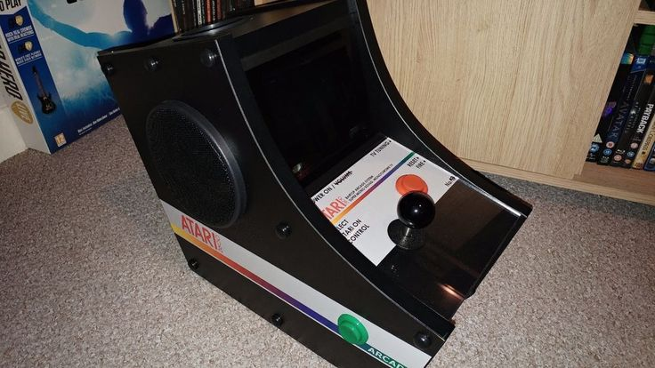 ATARI 2600, bartop arcade, Absolutely Unique #Atari