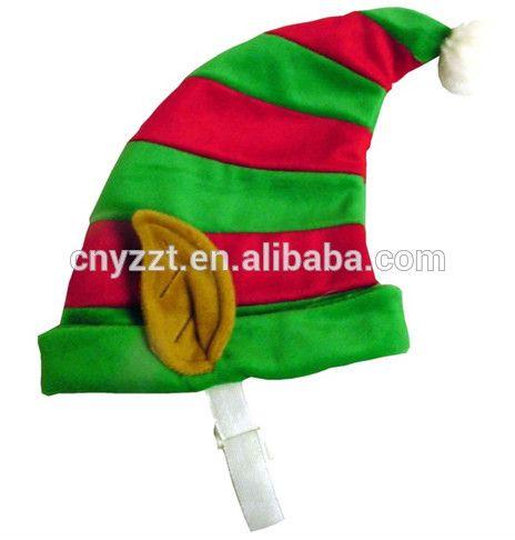 2015 saleing quente de pelúcia chrsitmas chapéu do duende / de pelúcia chapéus do natal elf-imagem-Decorações de Natal-ID do produto:60252229948-portuguese.alibaba.com