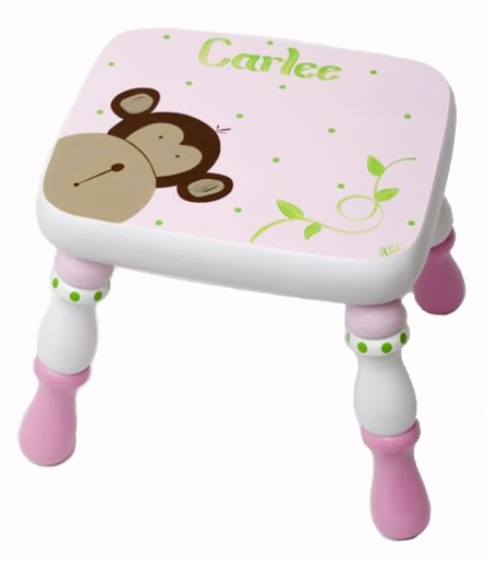 Personalized step stool so cute!  sc 1 st  Pinterest & 33 best Kidu0027s Step Stools images on Pinterest | Step stools ... islam-shia.org